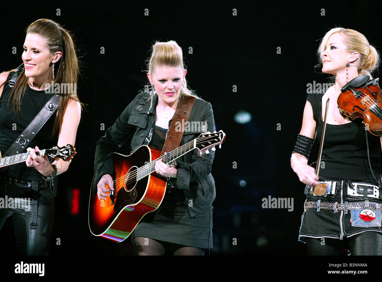 DIXIE CHICKS  US girl Country group in 2003 - Stock Image