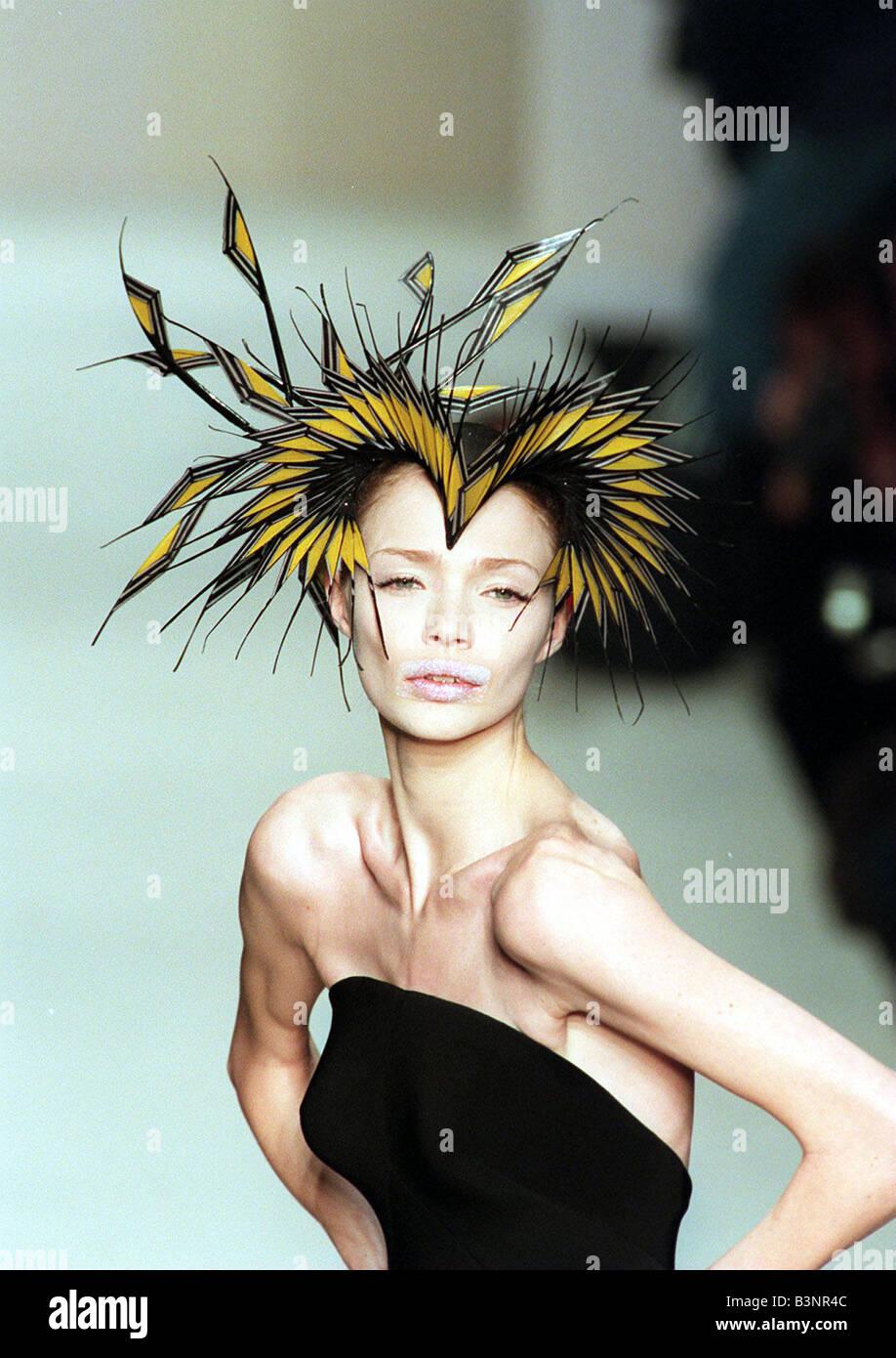 London Fashion Week February 1998 Designer Philip Treacy fashion show Hat 741d9247e8d