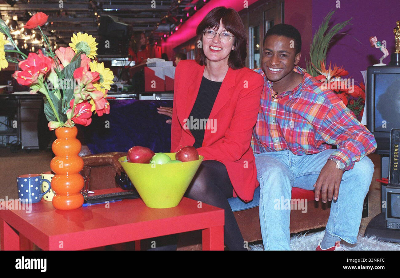 Janet Street Porter with Live TV presenter Simon London - Stock Image