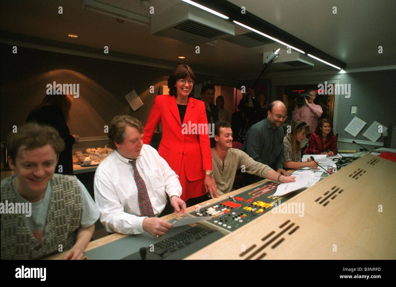 Janet Street Porter at the launch of Live TV - Stock Image