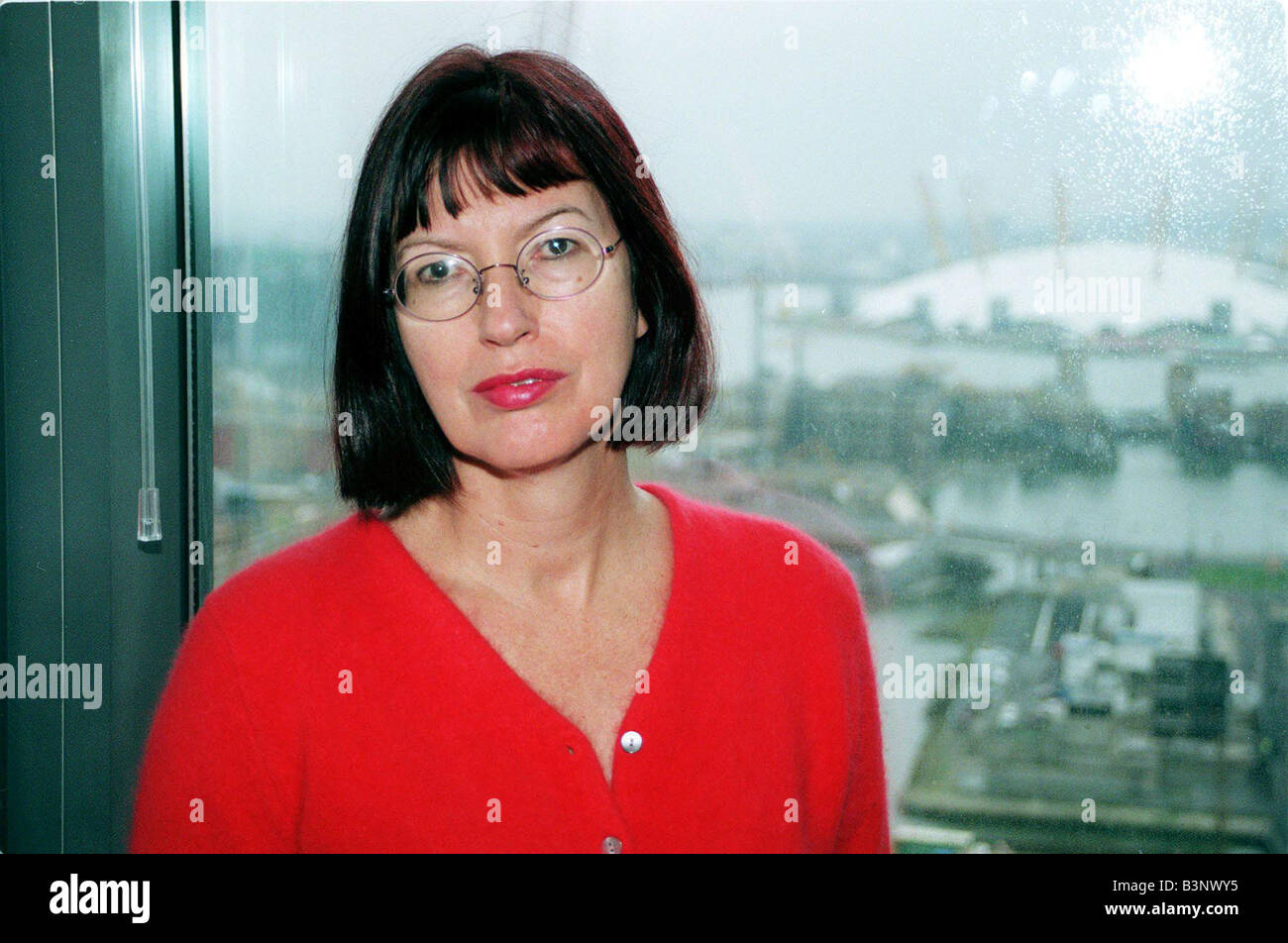 Janet Street Porter January 2000 Editor of Independent On Sunday - Stock Image