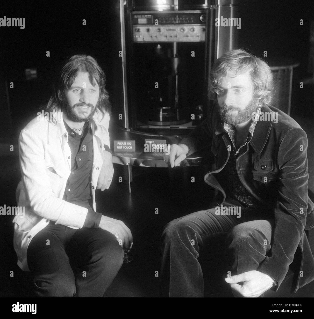 Former Beatle Ringo Starr With Designer Robin Cruickshank Who Is He In Partnership September 1971