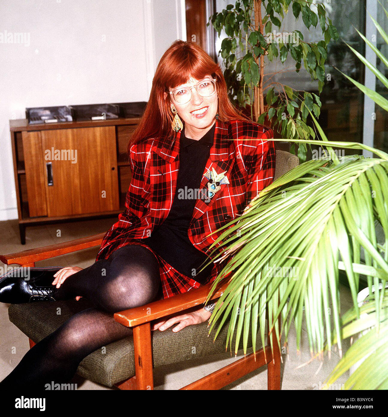 Janet Street Porter TV Presenter DBase MSI - Stock Image
