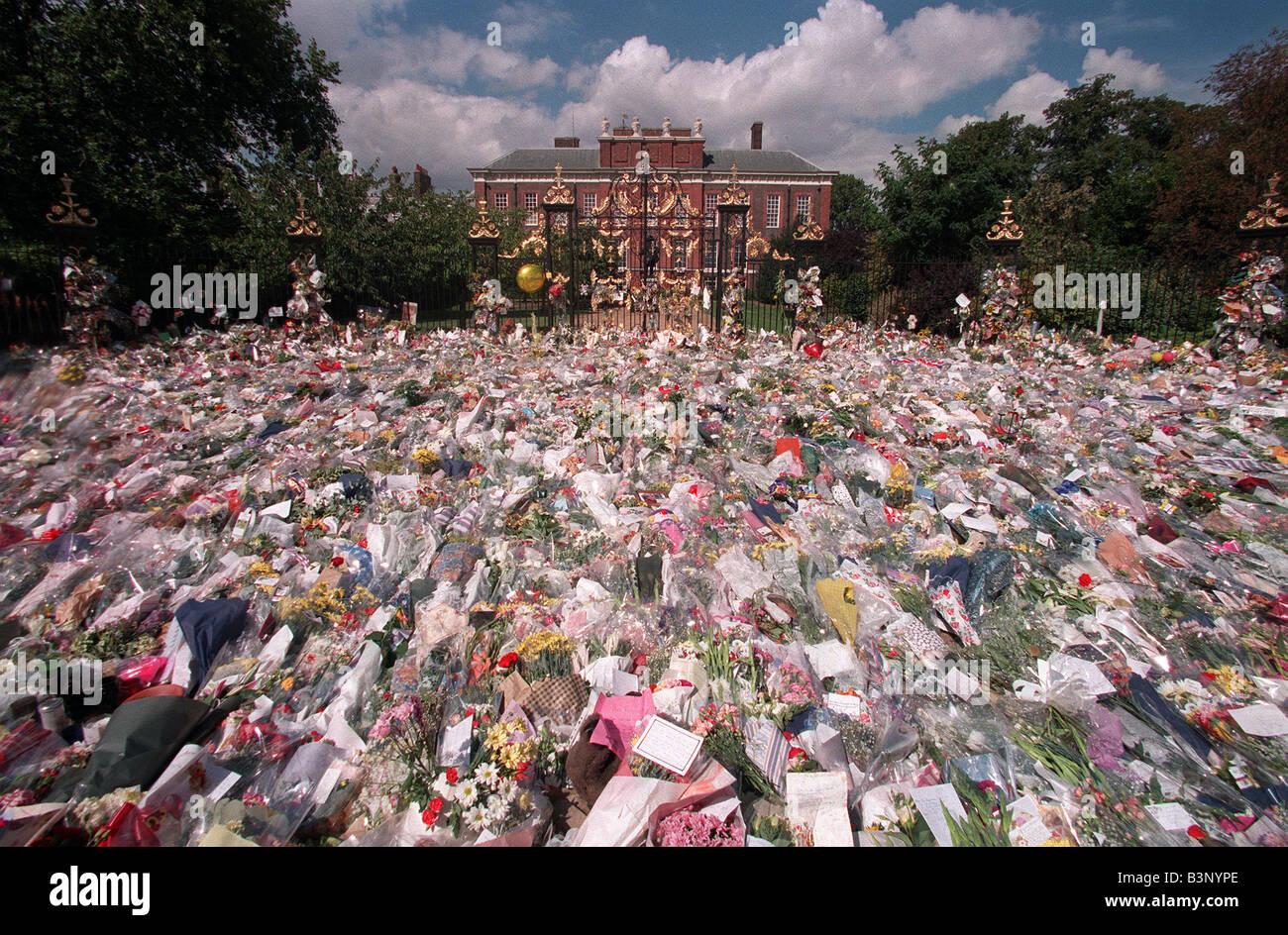 Princess Diana Death Flowers