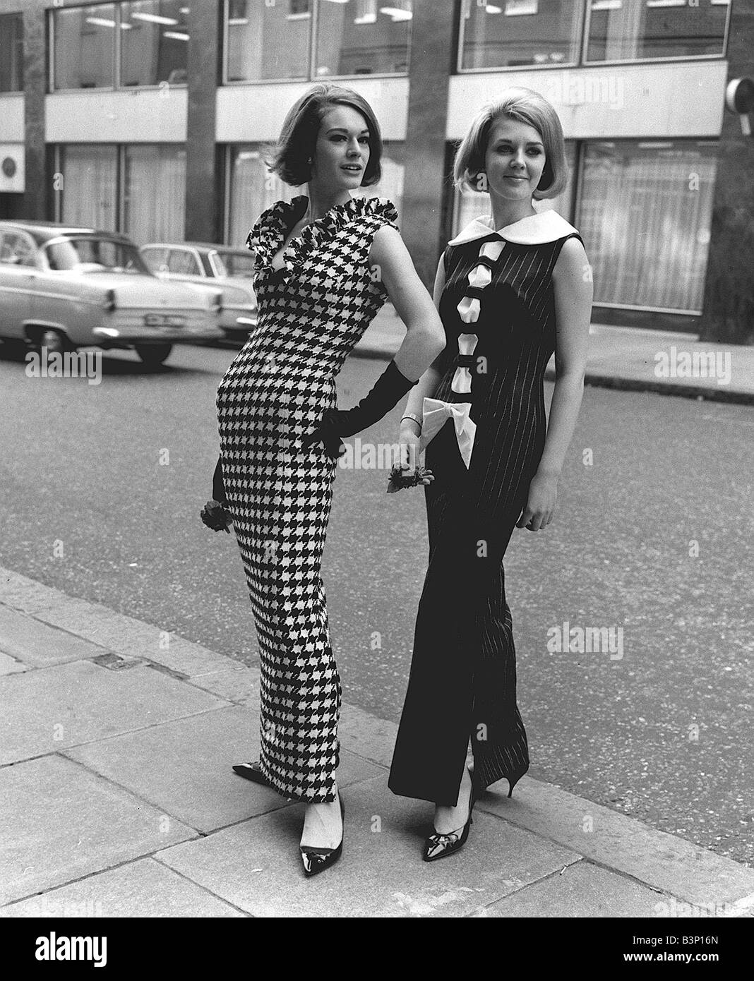 sixties 60s fashion by hershelle at bruron street left bold black