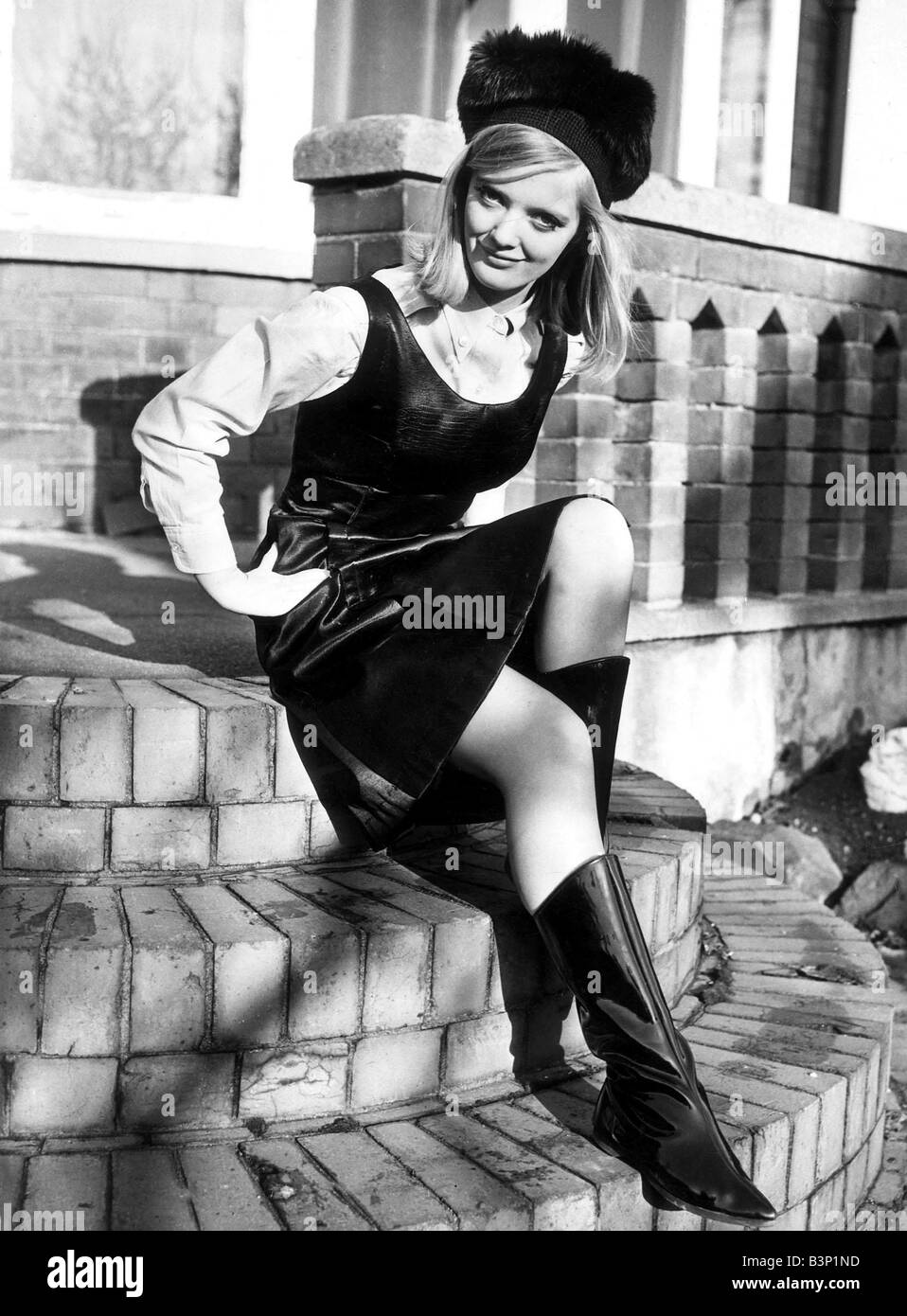 Clothing Fashion Leather Dress Boots January 1964 Fashion 1960 S Stock Photo 19538665 Alamy