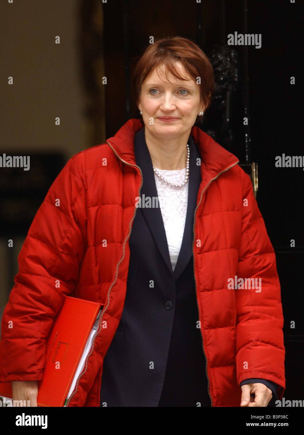 Tessa Jowell MP leaving Downing Street 2003 - Stock Image