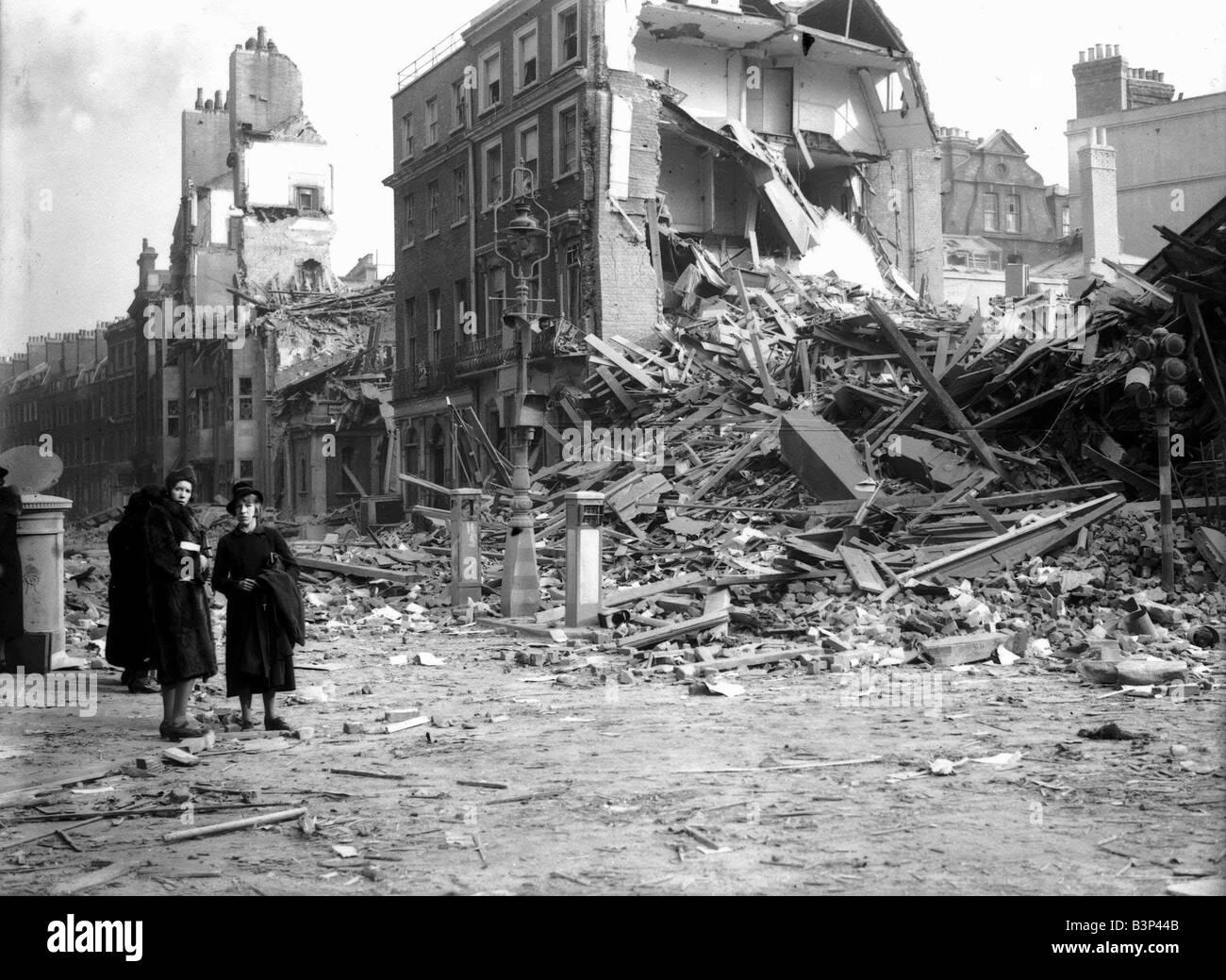 In  Buildings In Berlin Destroyed War