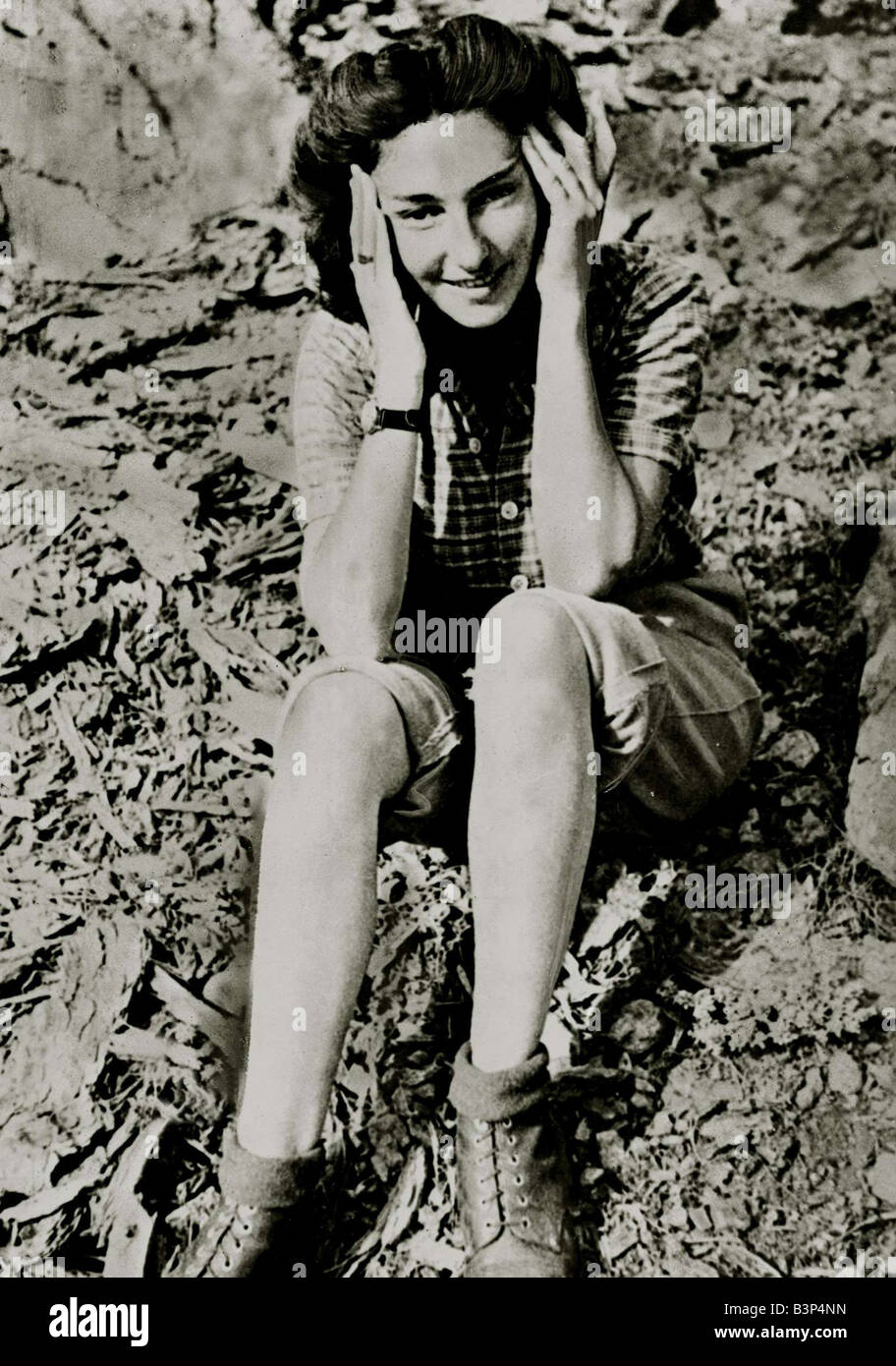 Christine Granville a wartime girl spy sitting on the floor in postwar time In WW2 she was also known as Krystyna Skarbek she was Churchill s personal favourite and operated in Eastern Europe on behalf of the Allies November 1956 Stock Photo