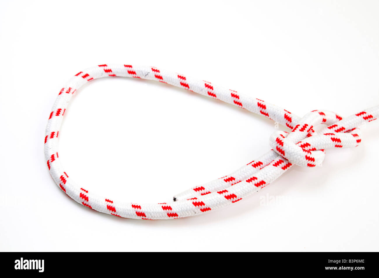 Sheet Bend Knot Stock Photos Images Alamy Bowline Diagram Of On White Background One The Most Used Loop Knots Image