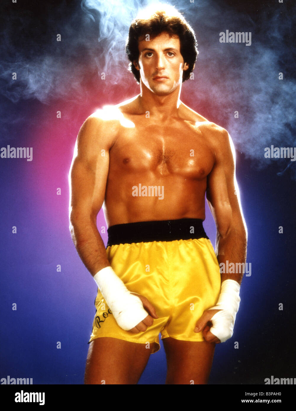 ROCKY   1976 UA film with Sylvester Stallone - Stock Image