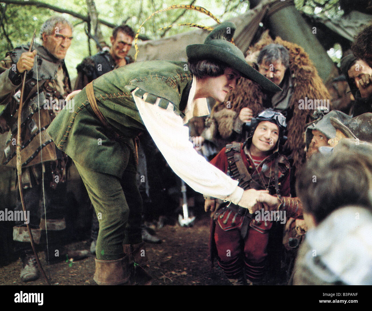 TIME BANDITS 1981 Handmade Films film with John Cleese - Stock Image