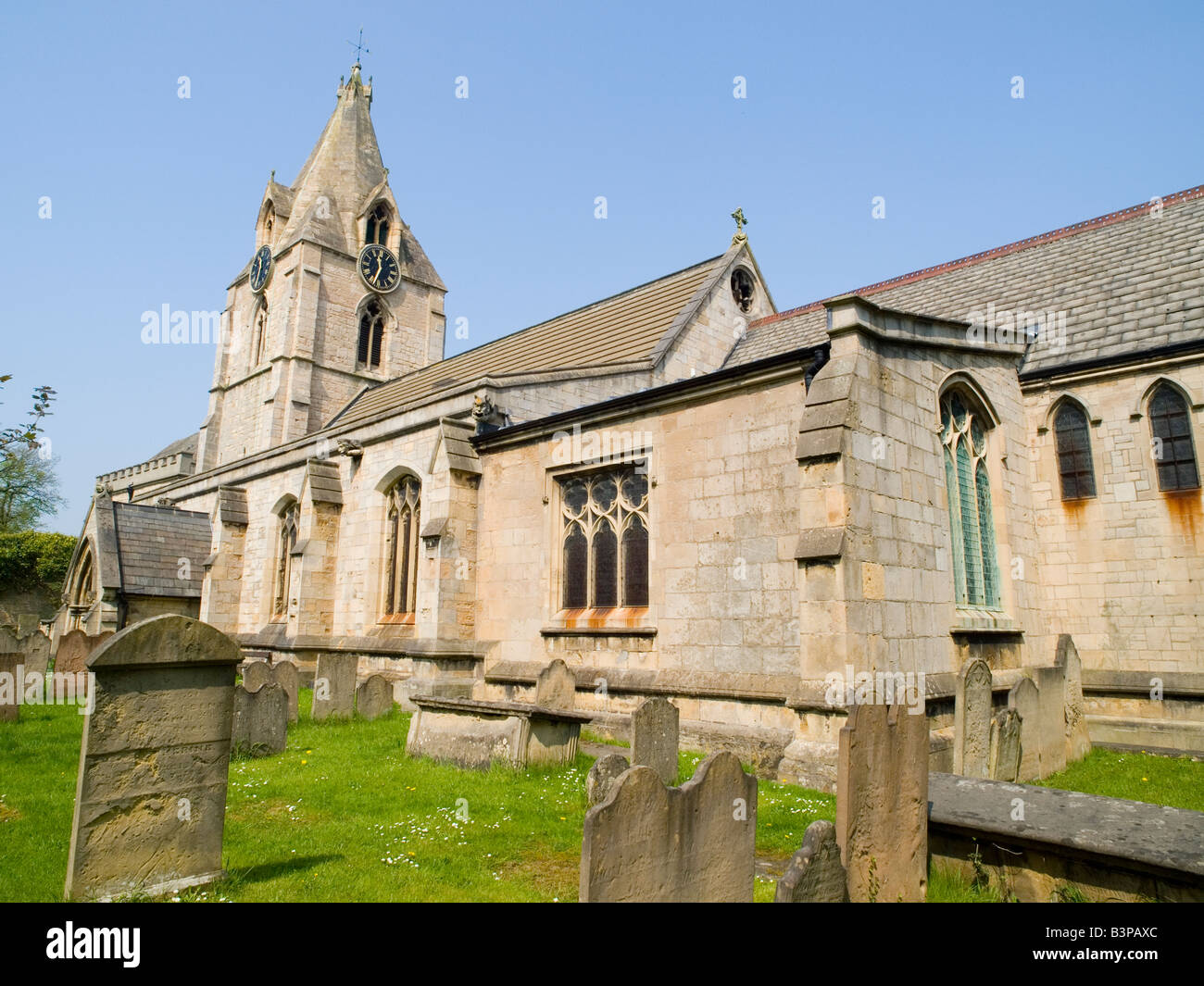 St Edmunds Parish Church In Mansfield Woodhouse Nottinghamshire England Uk Stock Image