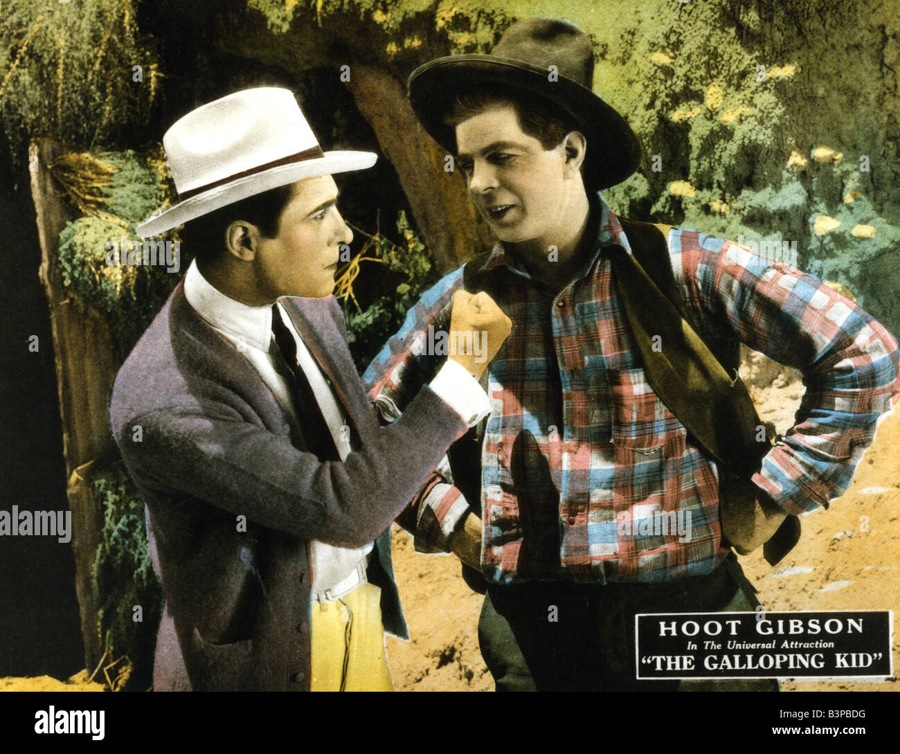 GALLOPING KID  1932 National Pictures Western film - Stock Image
