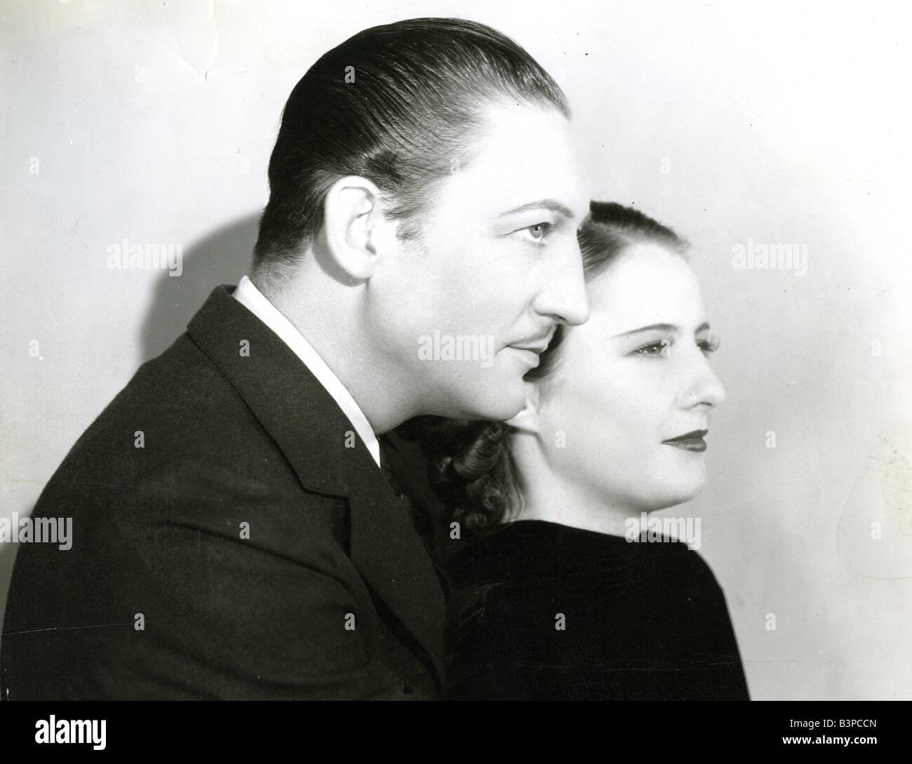 THE SECRET BRIDE 1935 Warner film with Barbara Stanwyck and Warren William - Stock Image