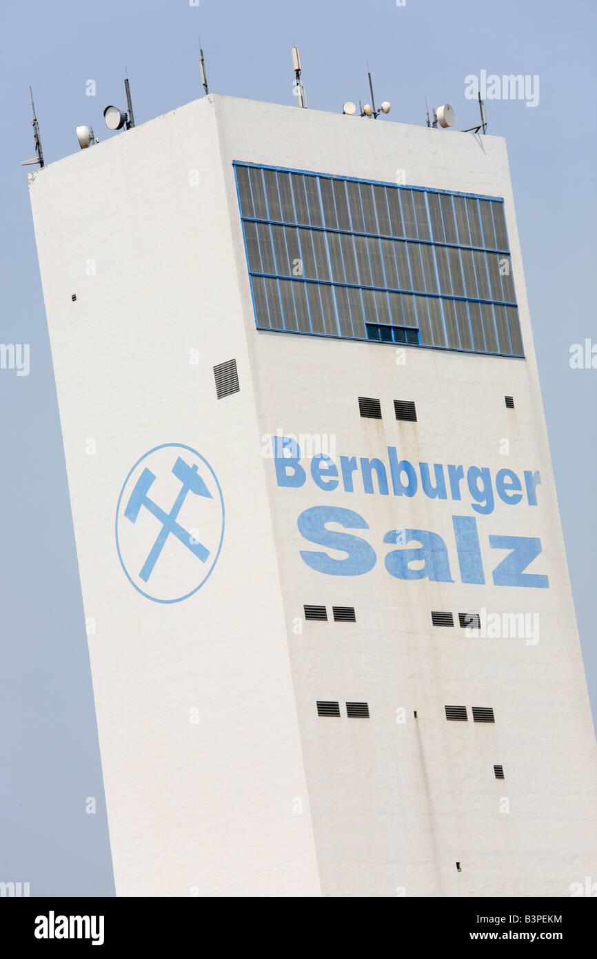 Kali und Salz AG in Bernburg, Germany; K&S AG Stock Photo