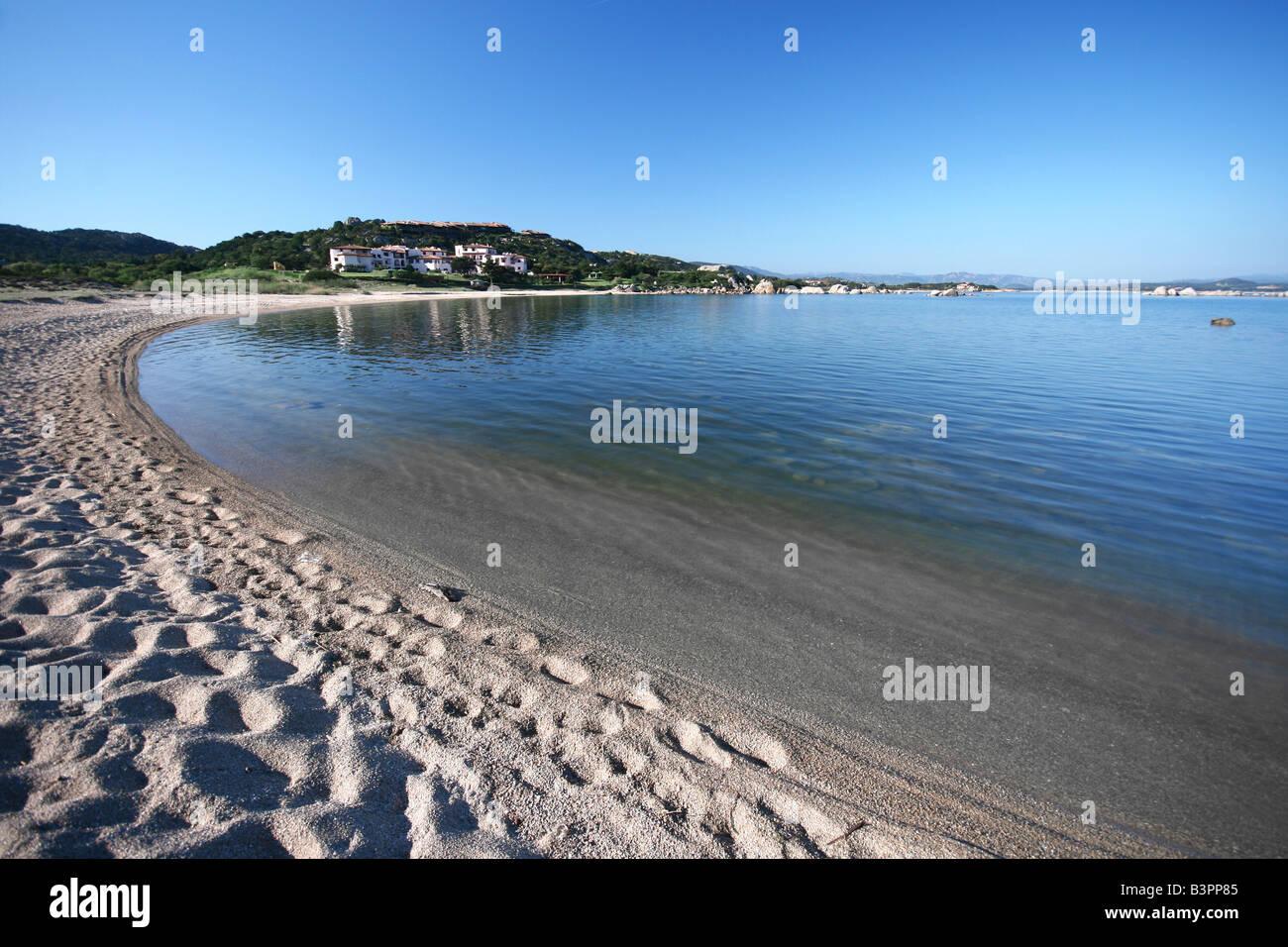Li Cuncheddi beach,  Cala Sa Figu, Olbia, Sardinia, Italy - Stock Image