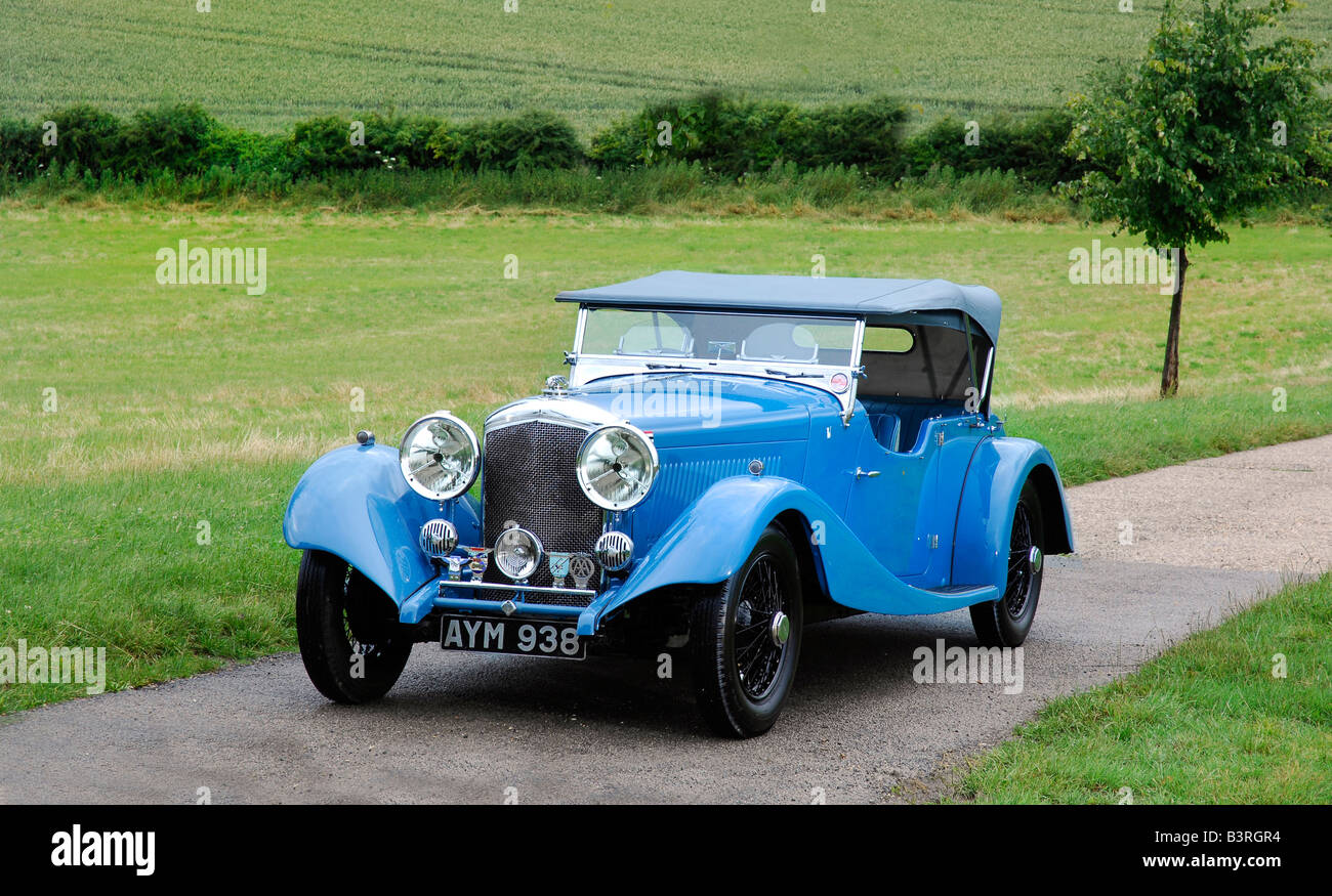Bentley 3.5L Sports Tourer 1934 Prince Bira Owned - Stock Image