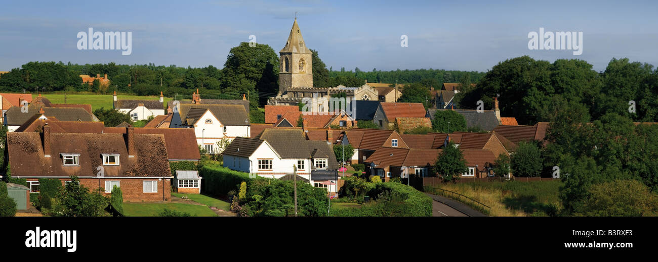 english village yelden bedfordshire home counties england uk europe - Stock Image