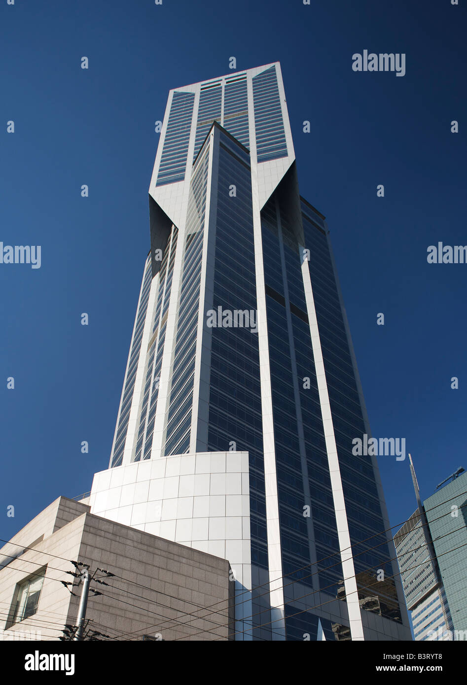 J C Mariott Hotel People's Square Shanghai China - Stock Image
