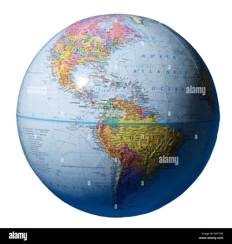 Spheres Globe - Stock Image