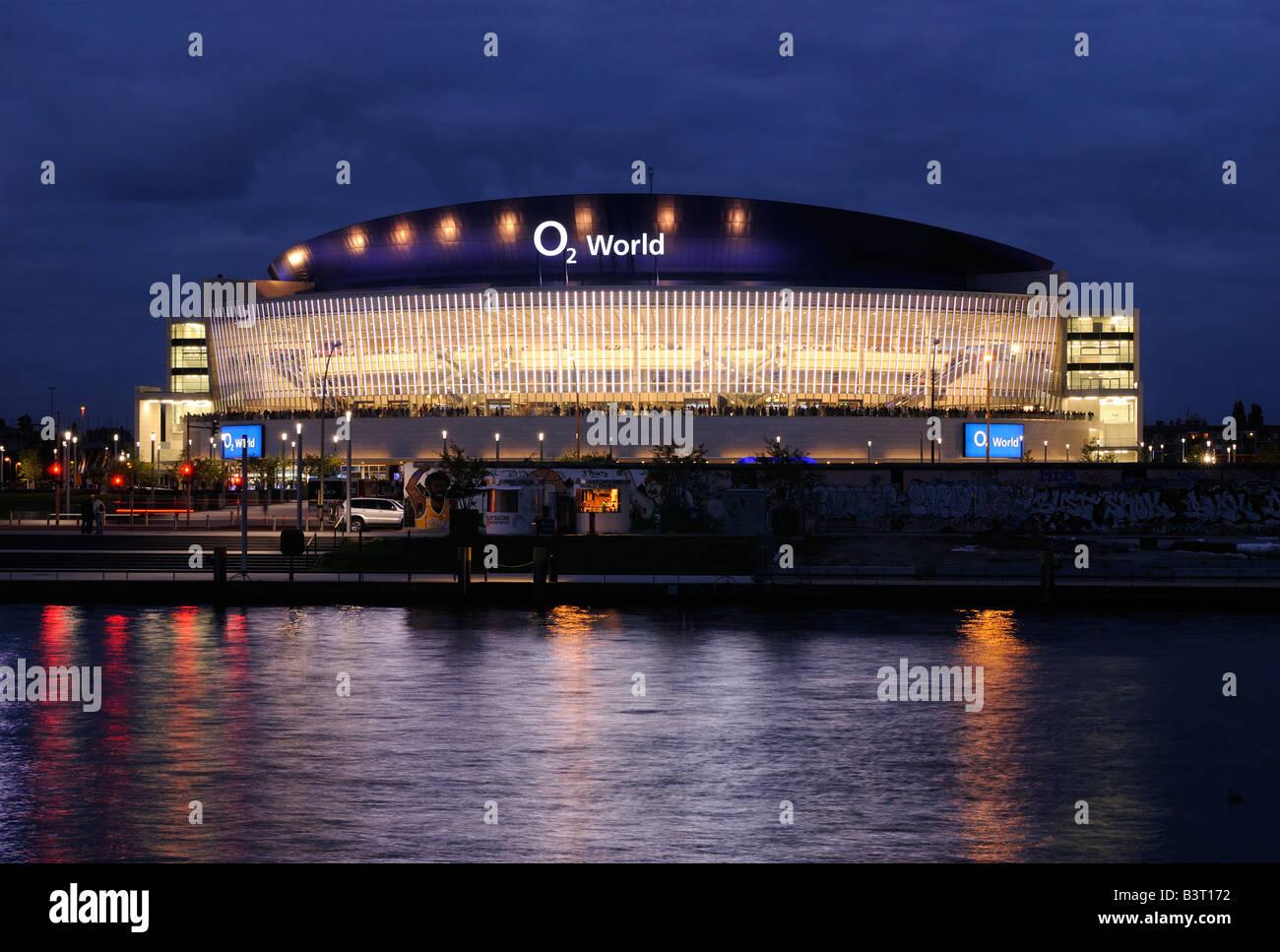 Berlin. O₂ World. O₂ Arena in Berlin-Friedrichshain. - Stock Image