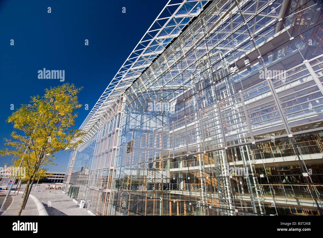 Luxembourg Kirchberg European Investment Bank EIB - Stock Image