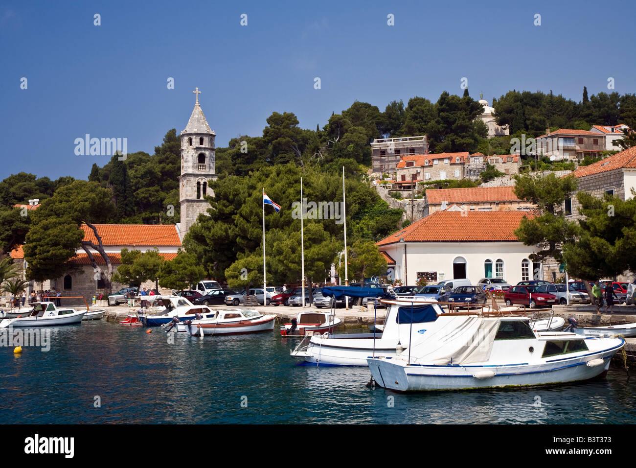 Cavtat Zupa Bay near Dubrovnik Croatia Stock Photo