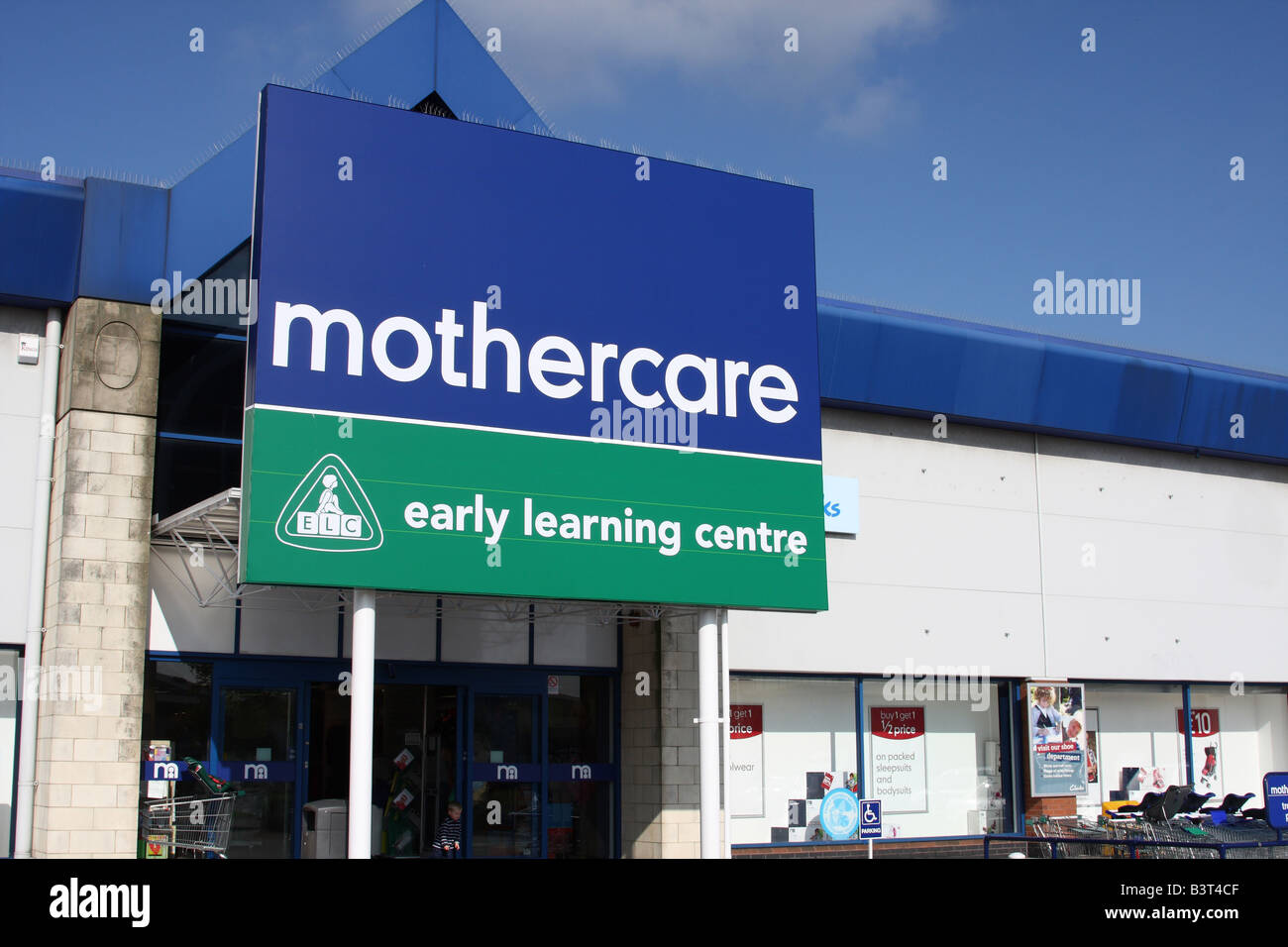 A Mothercare retail outlet, Nottingham, England, U.K. - Stock Image