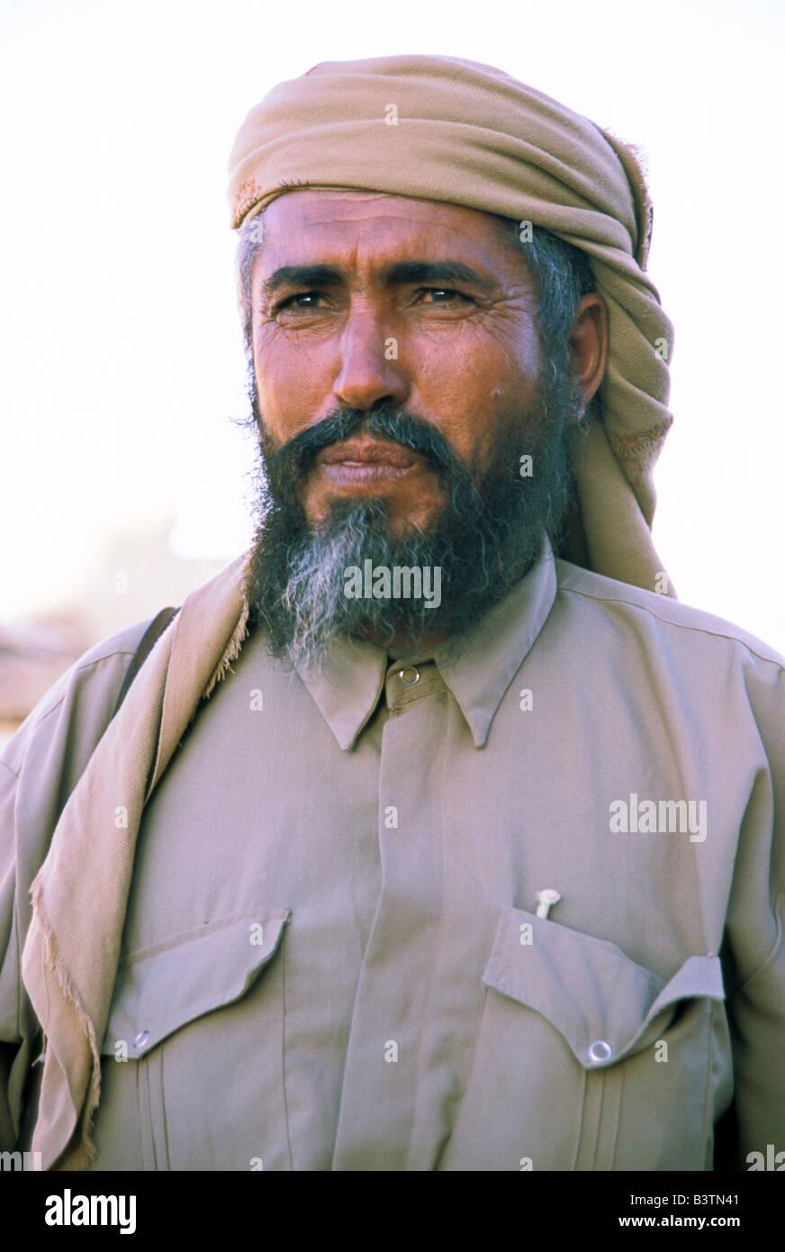 Asia, Yemen, Ma'rib. Sheik Marzook. - Stock Image