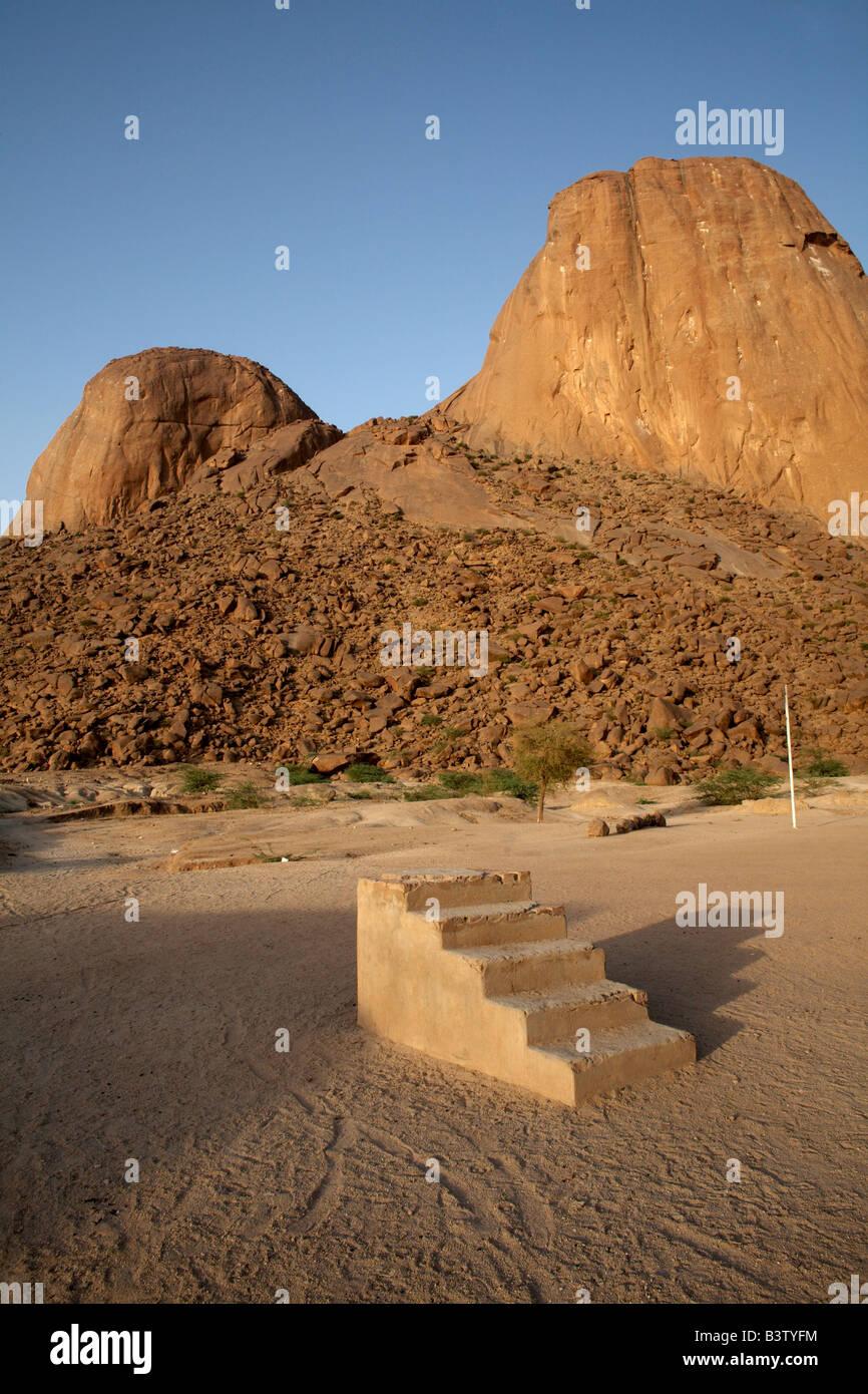 Steps to nowhere, Kassala, Sudan - Stock Image