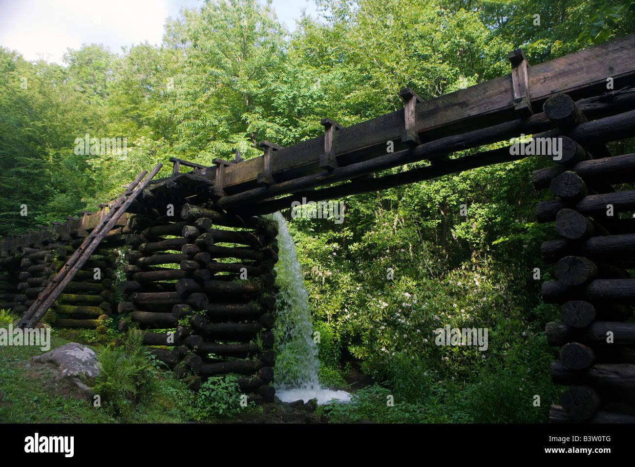 Mingus Mill, Great Smoky Mountains National Park, North Carolina, July 8, 2008 - Stock Image