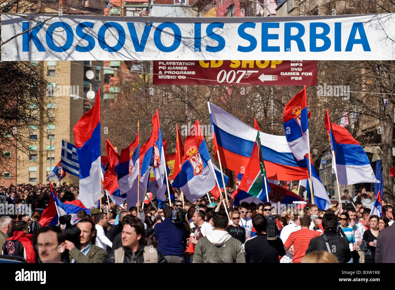 Image result for photos of serbs in kosovo