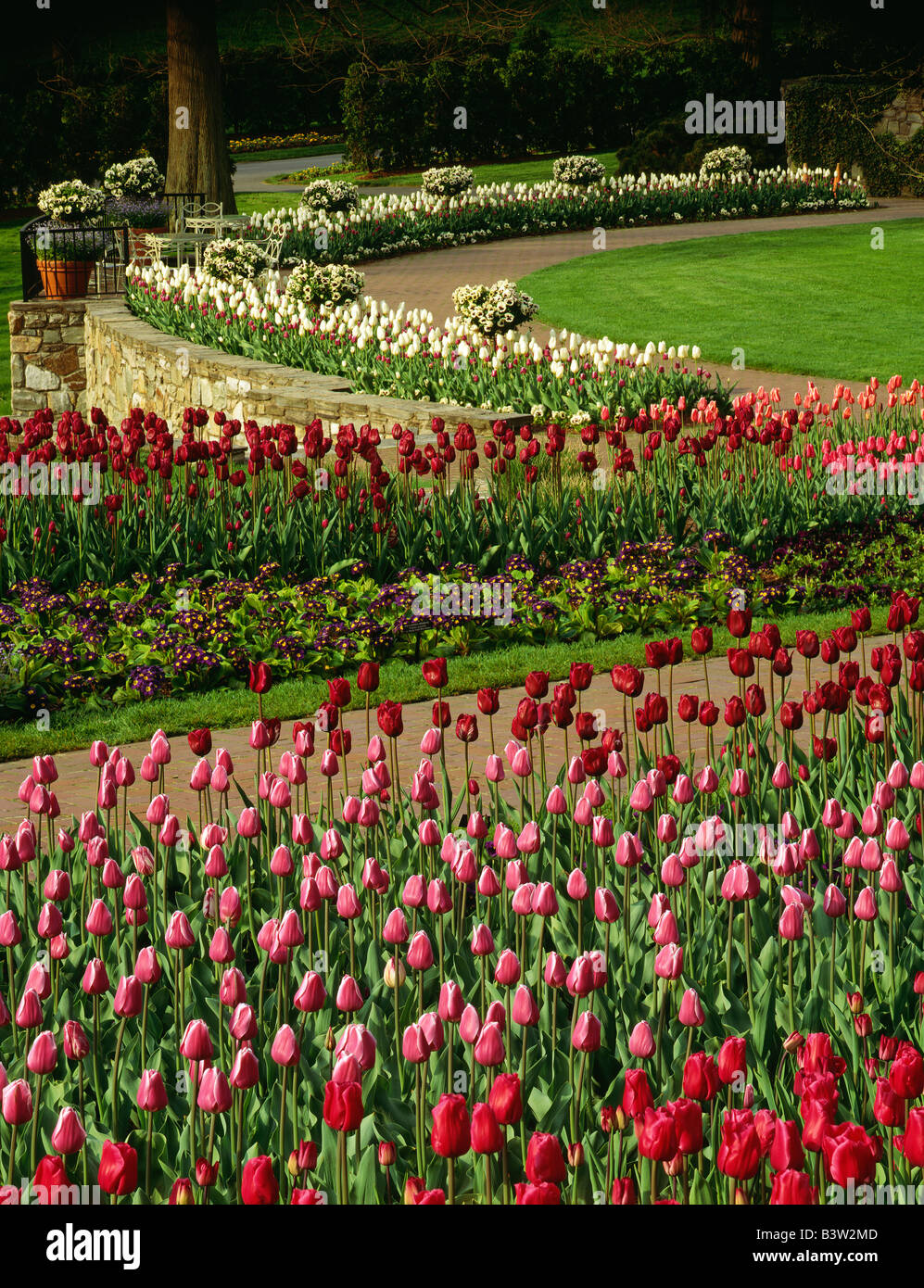 Longwood Gardens In Spring Stock Photos & Longwood Gardens In Spring ...