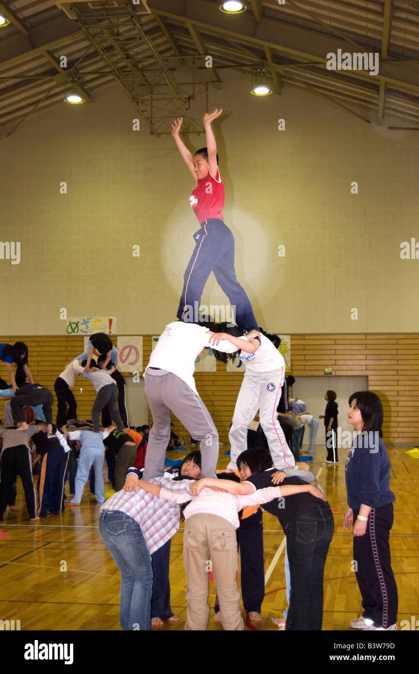 Pyramid Stunt Stock Photos & Pyramid Stunt Stock Images - Alamy