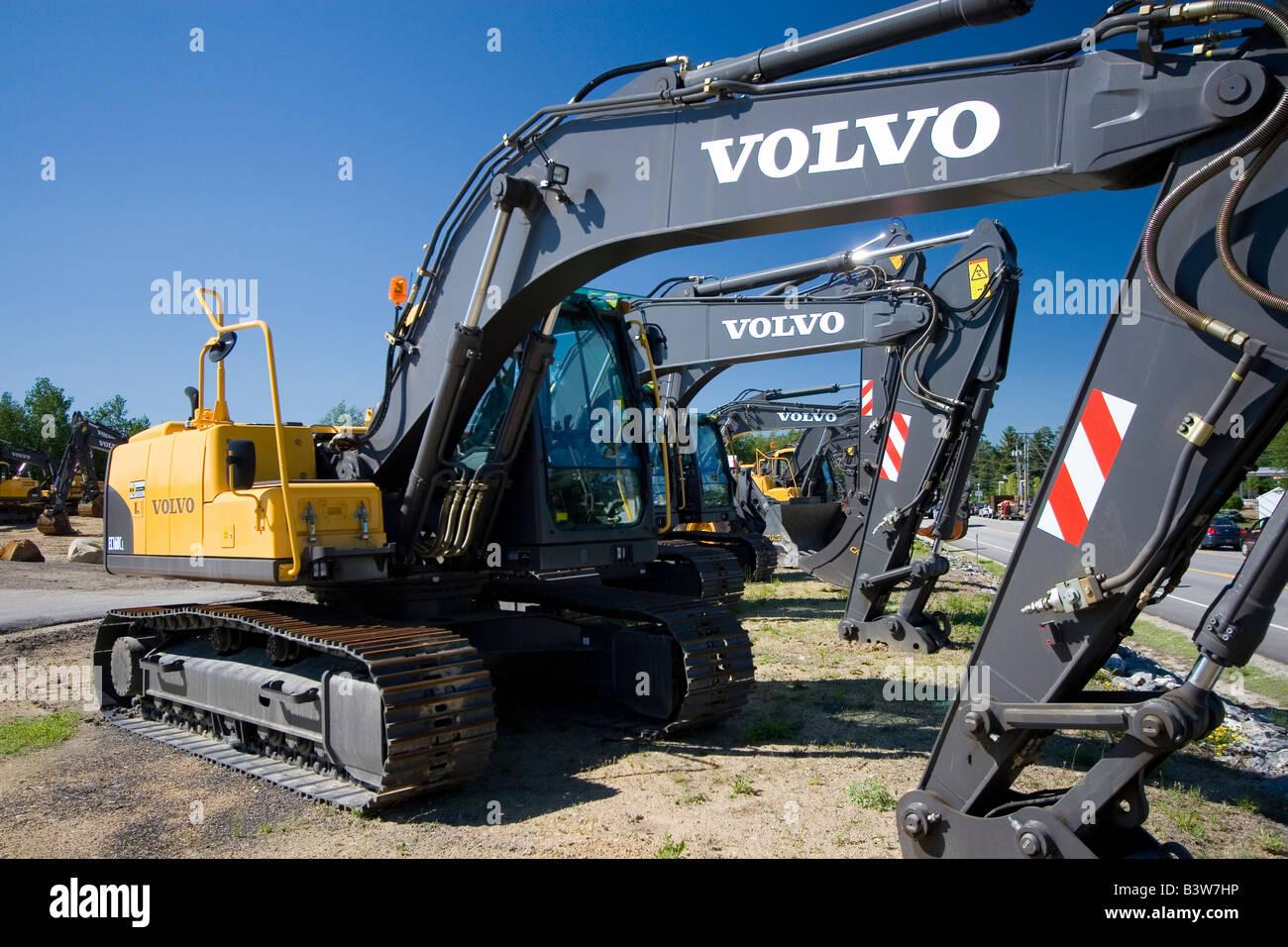 Volvo excavator factory in Kaluga 65