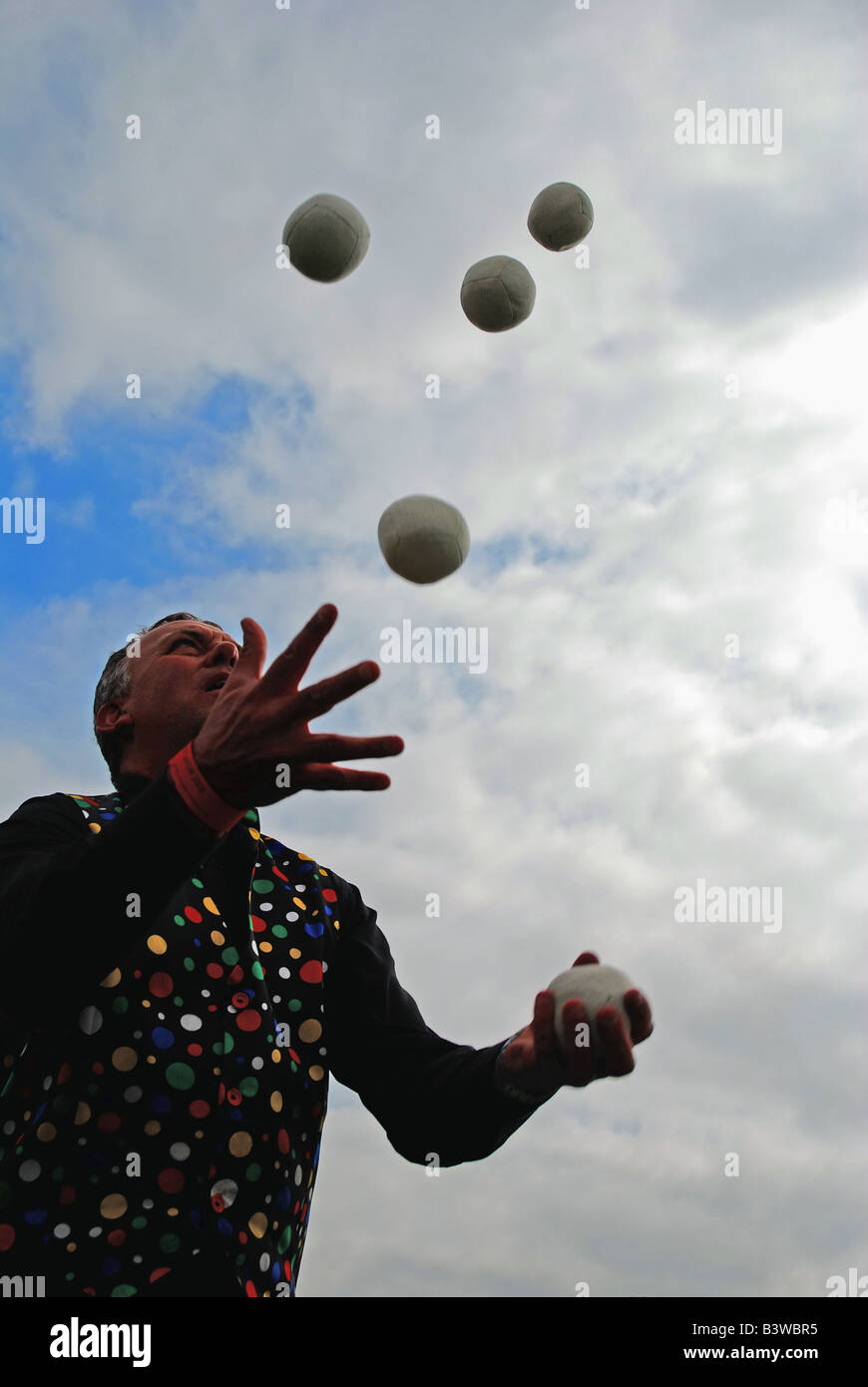 Juggler 2 - Stock Image