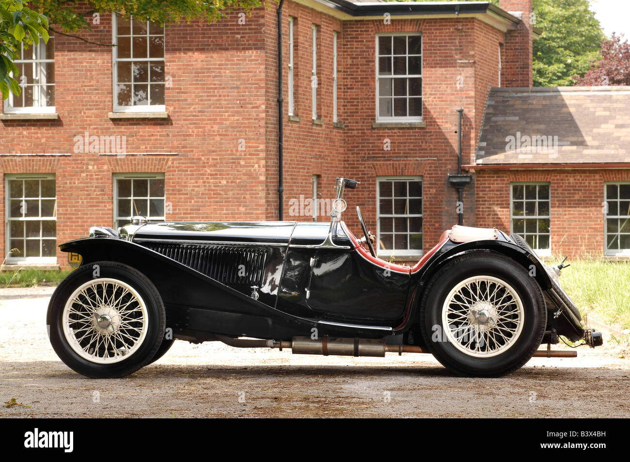 Riley Imp Roadster 1935 - Stock Image