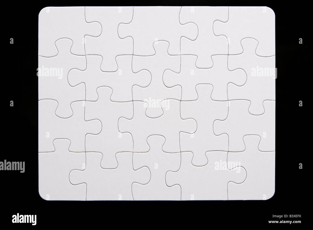 Close-Up Of Small Puzzle Stock Photo