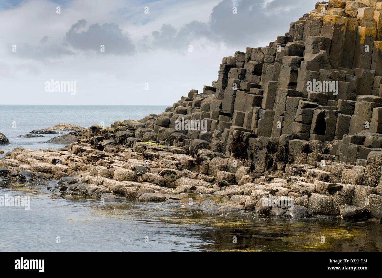 Giants Causeway, Northern Ireland - Stock Image