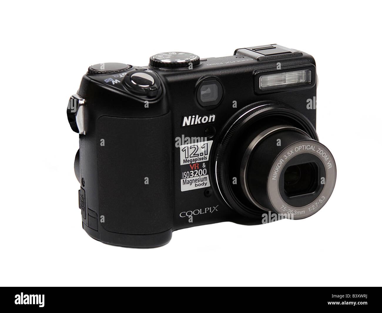 Nikon pocket Digital Camera - Stock Image