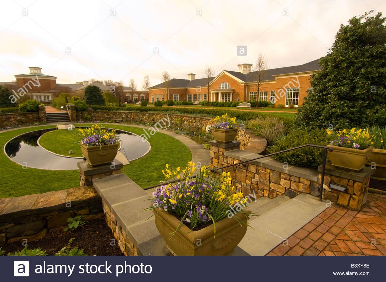 Lewis Ginter Botanical Garden Richmond Virginia USA Stock Photo ...