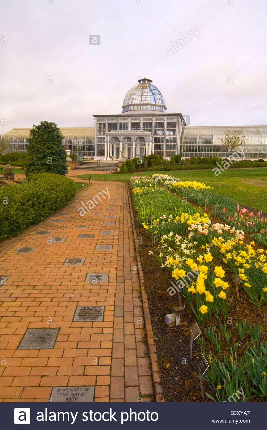 Lewis Ginter Botanical Garden Richmond Virginia USA Stock Photo ...