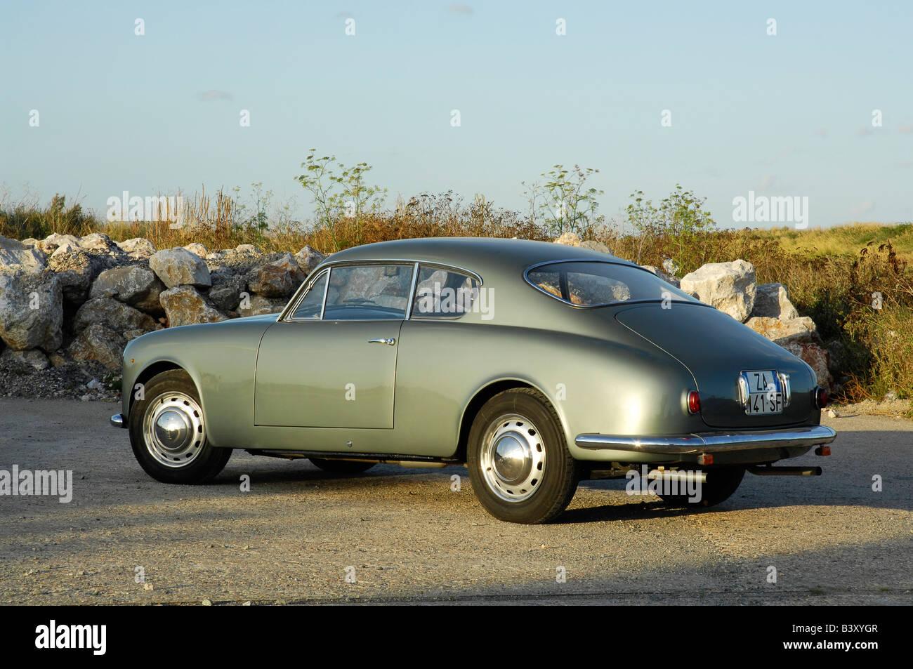 Lancia Aurelia 1957 - Stock Image