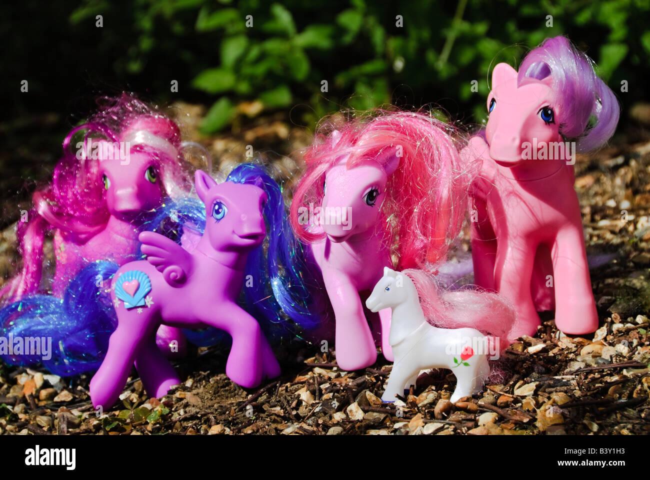 Hasbro 'My Little Pony' toys bhz - Stock Image