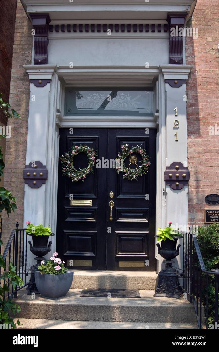 elegant front doors beautiful elegant front door of restored home in historic frederick maryland stock image front door photos images