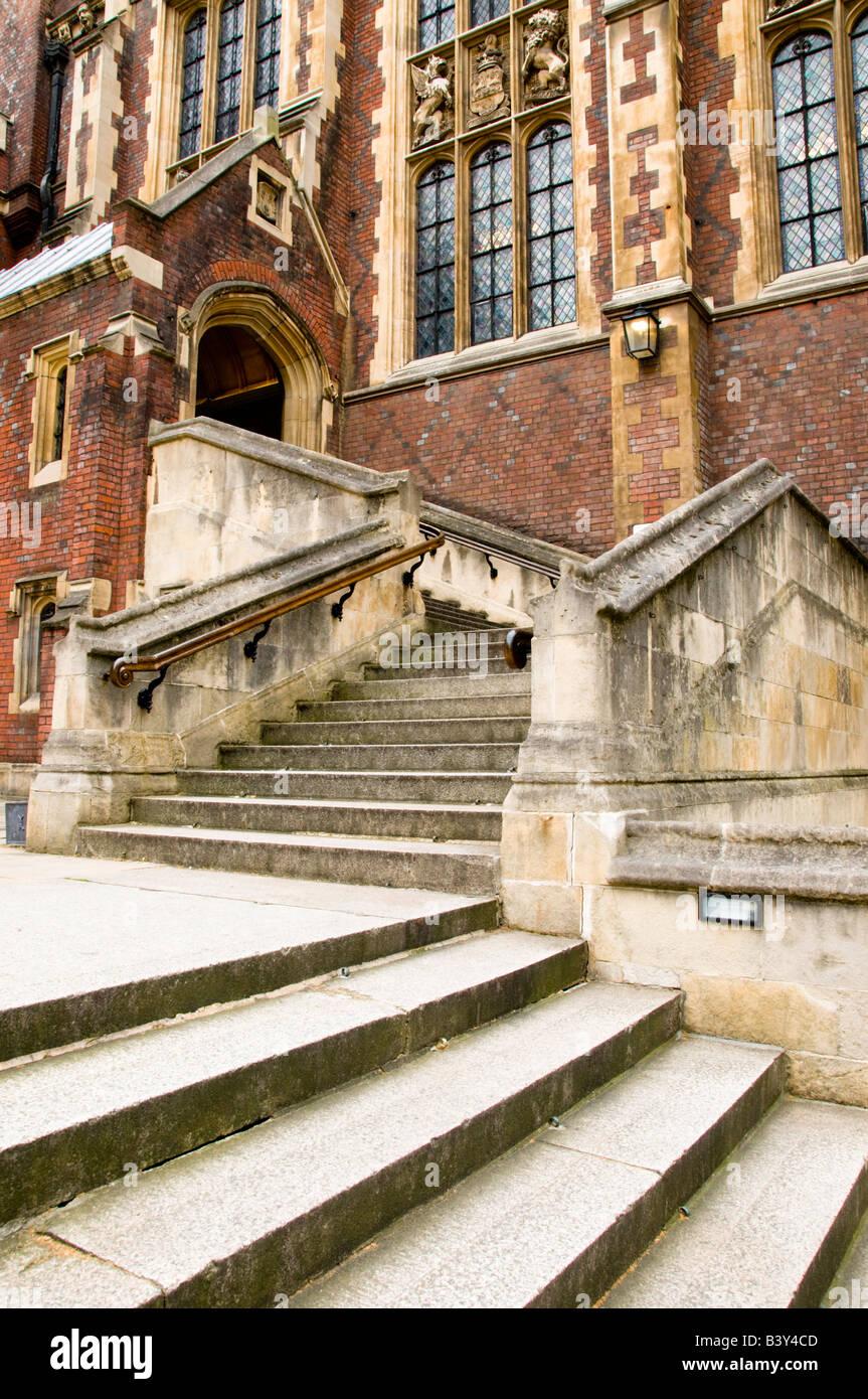 Lincoln's Inn Library, Holborn, City of London, UK - Stock Image