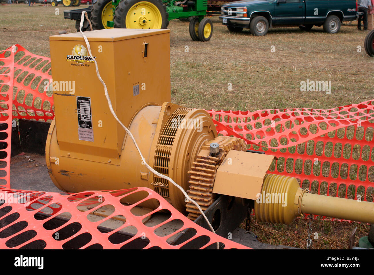 Electrical Shaft Drive Tractor : Large power take off pto shaft electric generator driven