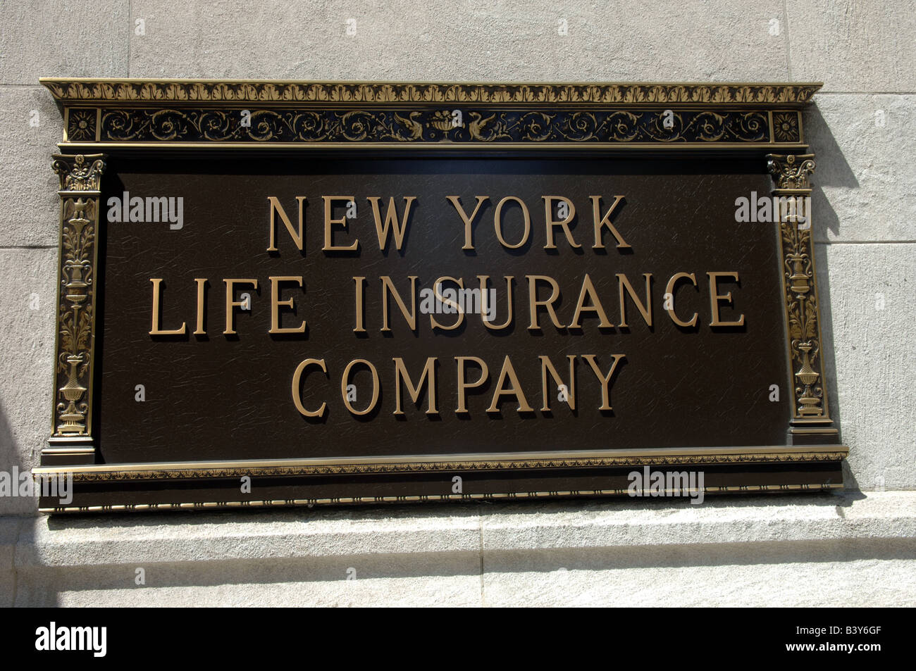 The New York Life Insurance Company Building at Madison Square Park on Saturday August 23 2008 Frances M Roberts - Stock Image