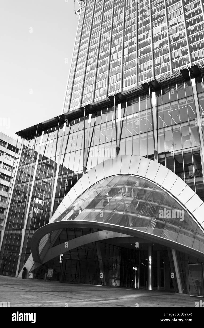 The CityPoint building in London - Stock Image